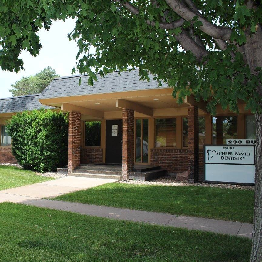 Scheer Family Dentistry Care Building